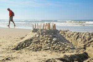 sandcastle camping activity