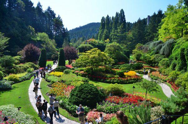 butchart botanic gardens