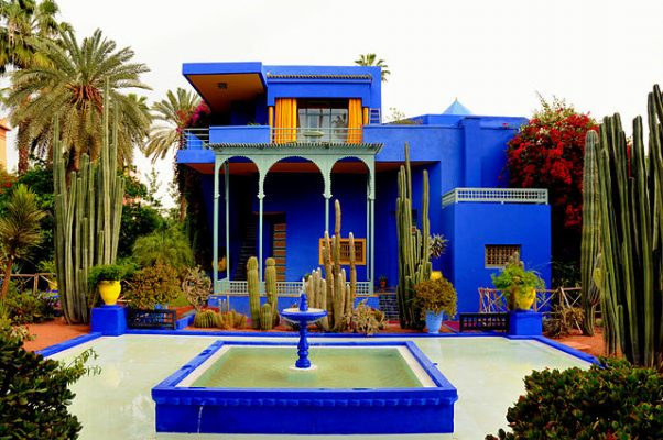 jardin de majorelle makarresh morocco africa botanical gardens