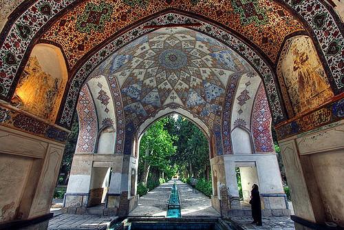 bagh-e-fin garden botanical garden iran middle east